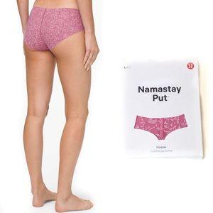 Lululemon Namastay Hipster Panty